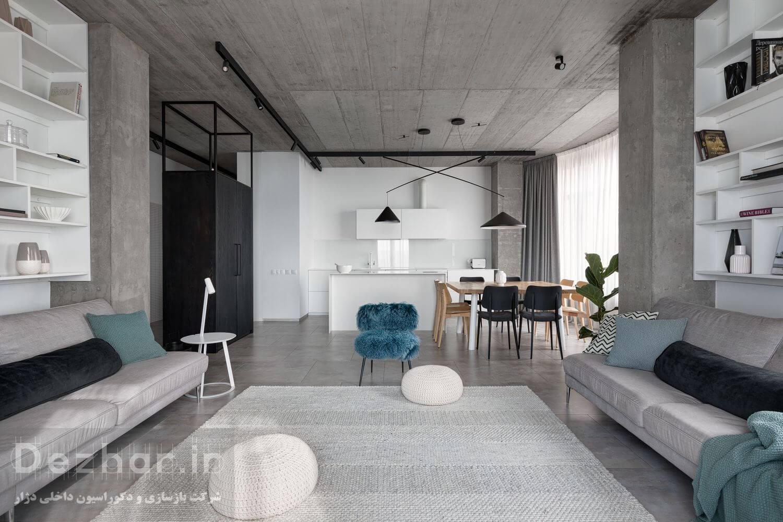 پروژه طراحی داخلی مینیمال