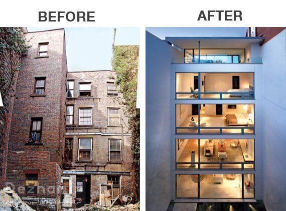 بازسازی ساختمان کلنگی