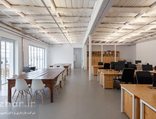 نوسازی و طراحی داخلی دفتر یوسف آباد