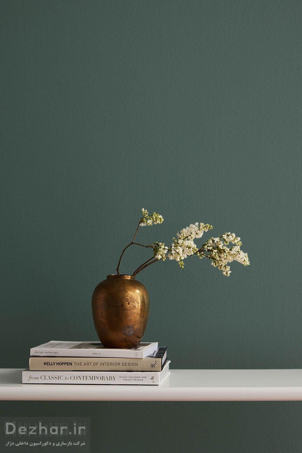 گیاه و رنگ سبز در دکوراسیون داخلی