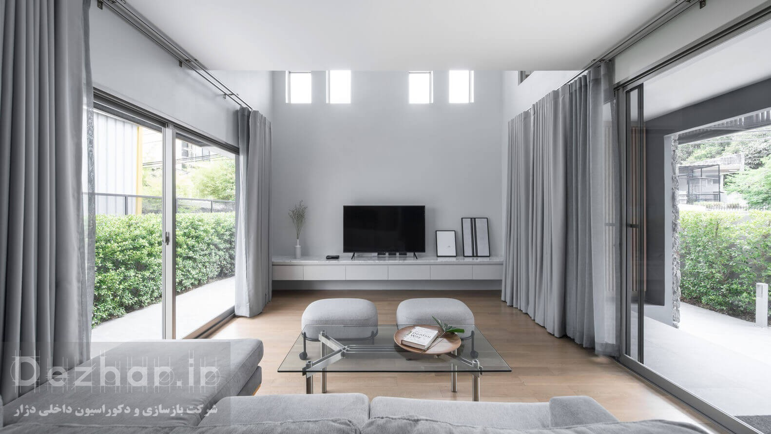 بازسازی و طراحی داخلی خانه