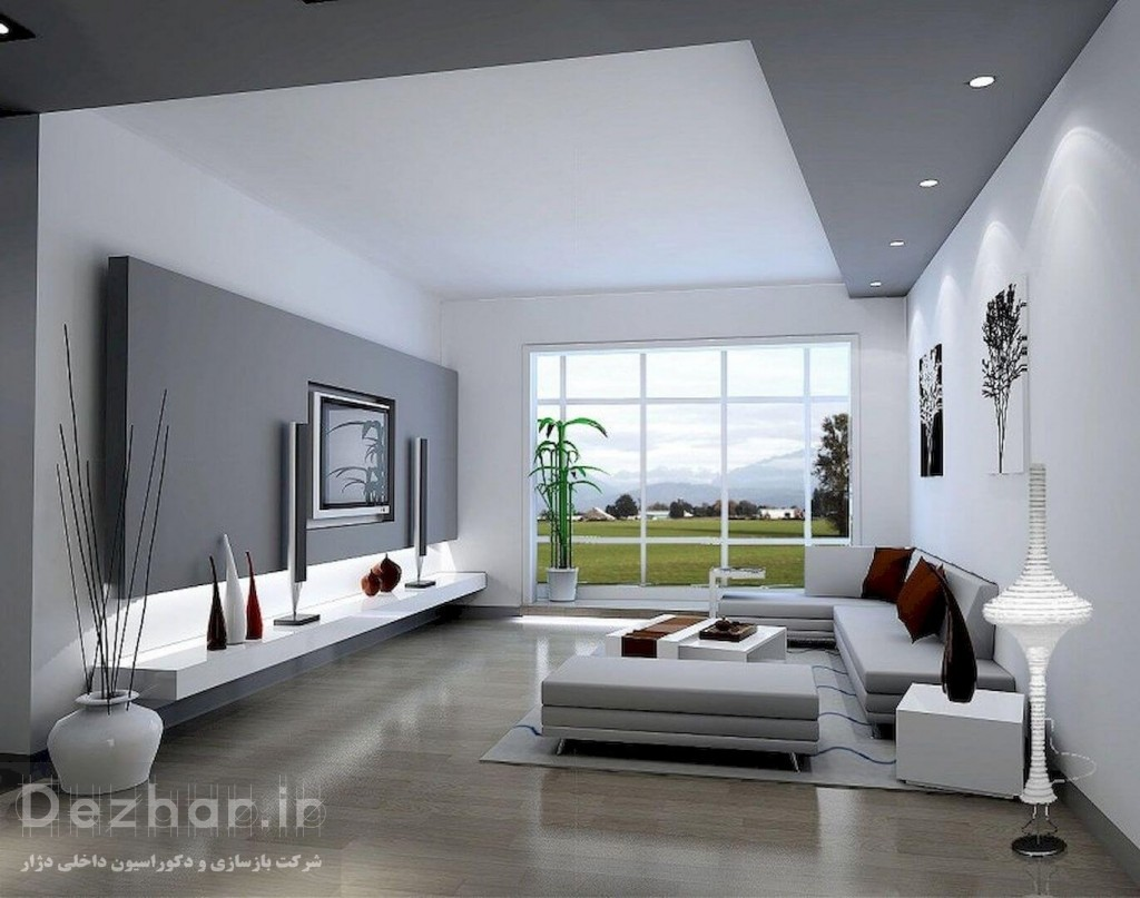 استفاده از پنجره های بزرگ در طراحی مدرن