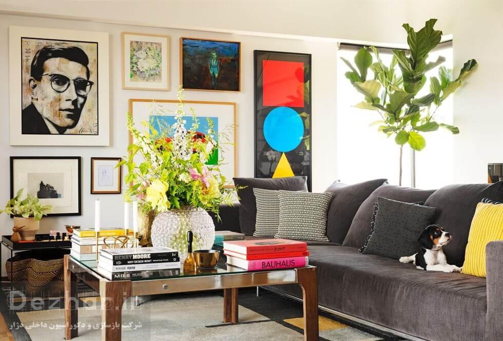 استفاده از گیاهان و فضای سبز در طراحی داخلی منزل