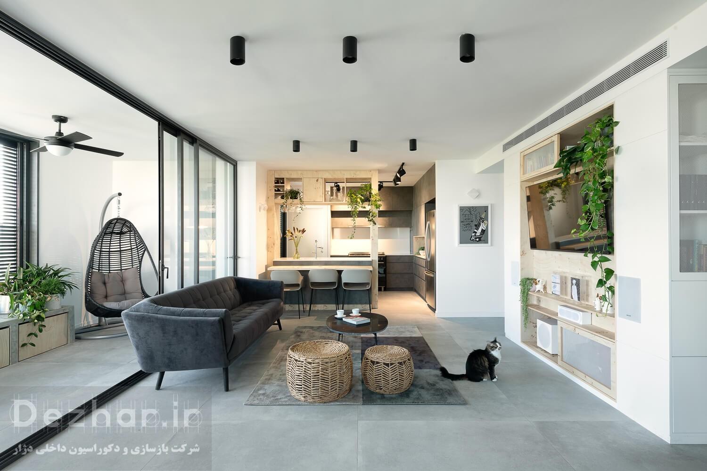 طراحی داخلی خانه مدرن 501