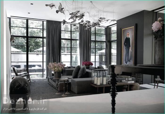 طراحی داخلی منزل به سبک مدرن