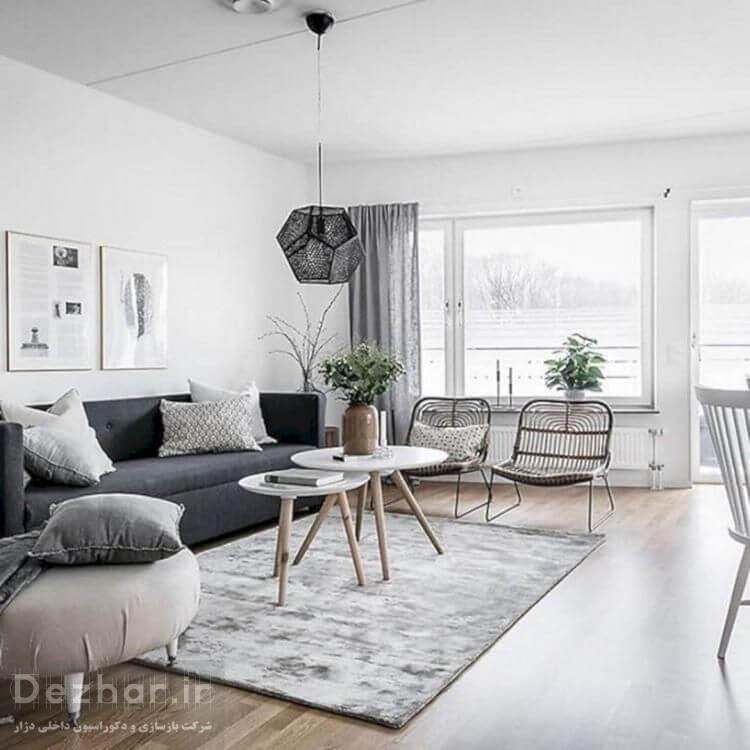 نمونه طراحی دکوراسیون داخلی منزل 2021