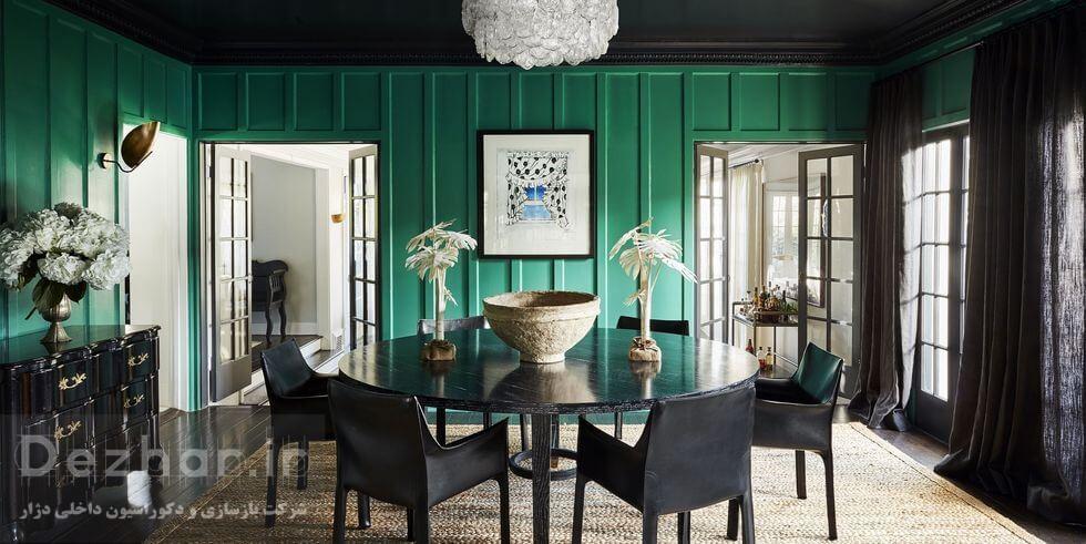 نمونه طراحی داخلی منزل 2021 سبز