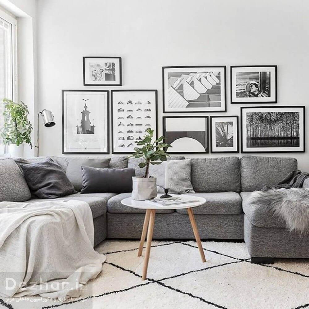 دکوراسیون داخلی منزل به رنگ خاکستری