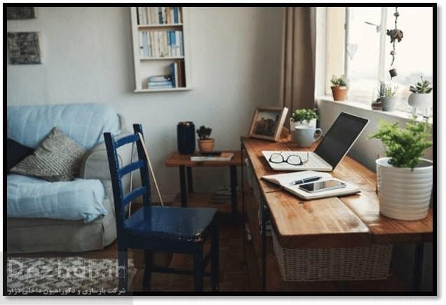طراحی اتاق کار در خانه home office