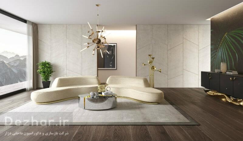 طراحی دکوراسیون داخلی منزل مدرن