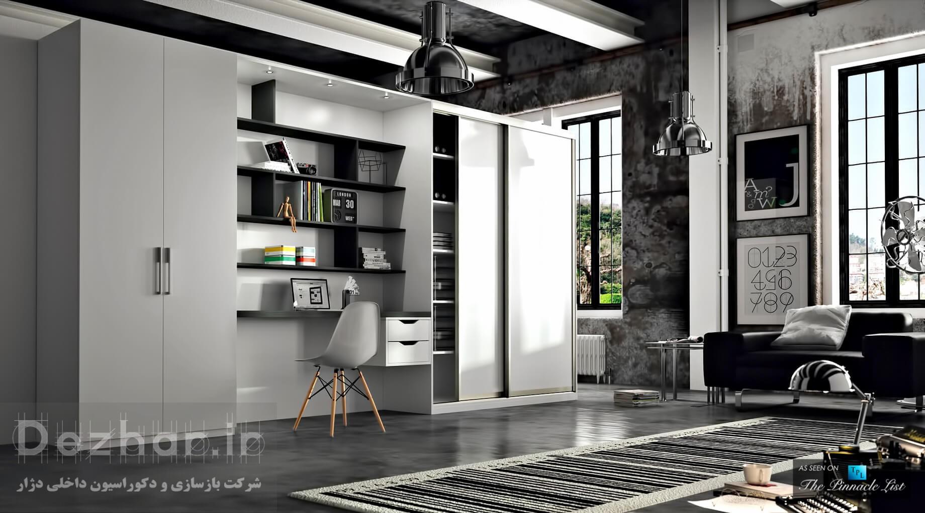 انتخاب رنگ سفید و سیاه - 3 استراتژی برای طراحی خانه لوکس