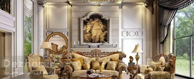 طراحی خانه لوکس در فرشته