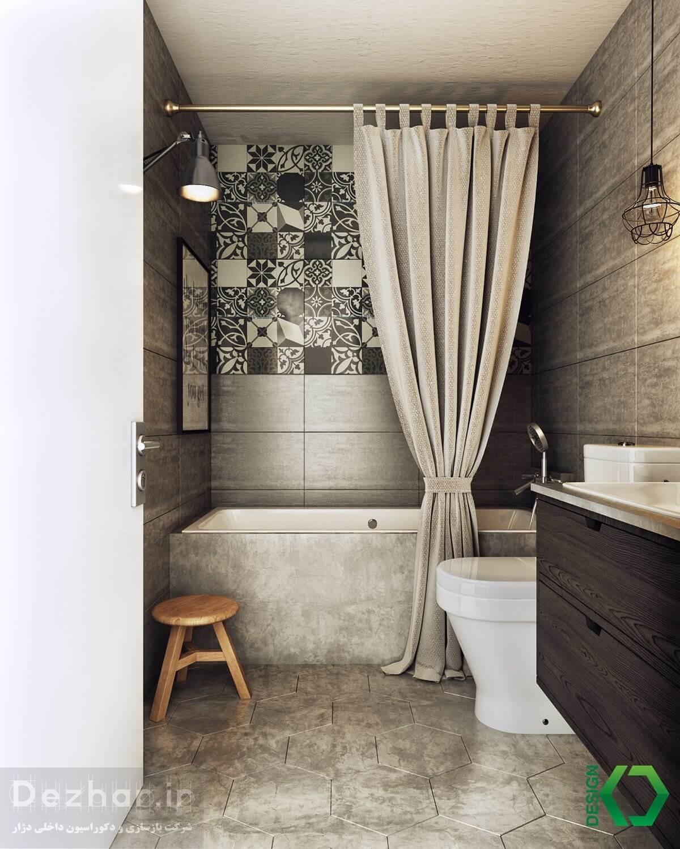 طراحی داخلی حمام مدرن